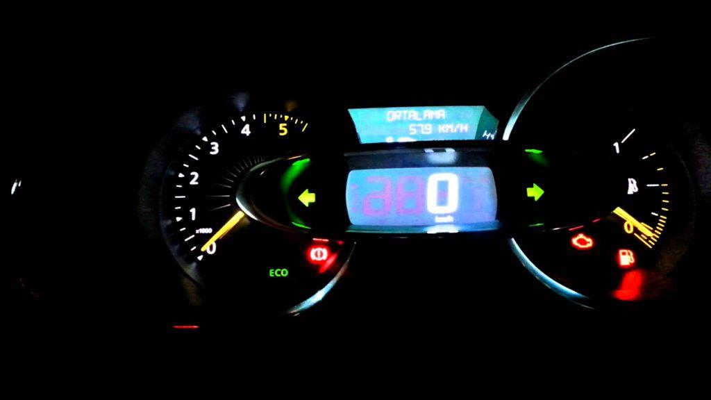 Renault Clio Arıza Lambaları ve Anlamları